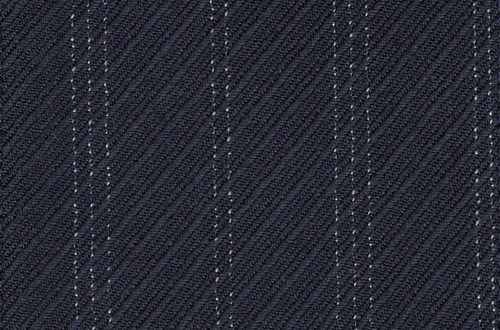 Navy Rhadame Twill with white stripe