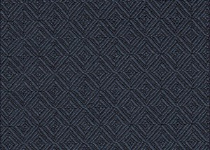 Denim Blue Diamond Geometric