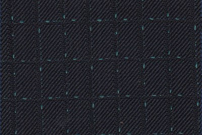 Dark Navy with Green Dot check