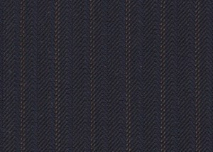 Navy with Tan Stripe
