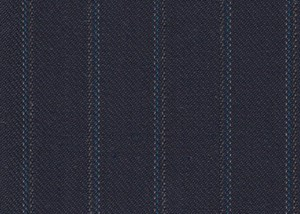 Navy with Blue/White Stripe