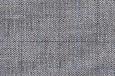 Light Grey with Light blue / Navy check