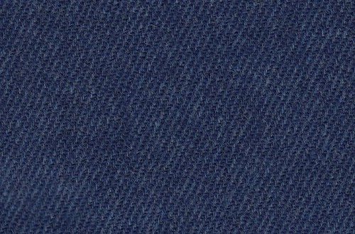 Plain Navy Textured Twill