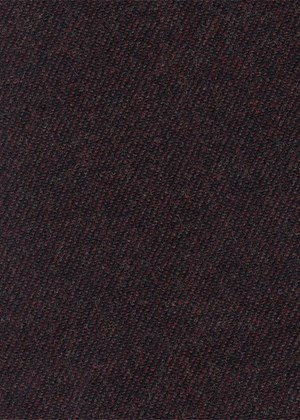 Plain Dark Brown Twill