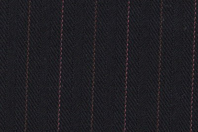 Black with Terracotta & Pink Stripes