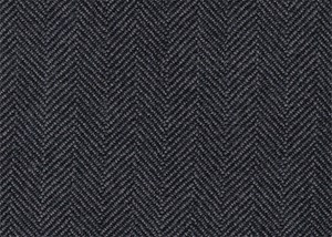 Herringbone Grey & Black