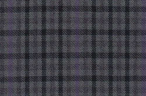 Grey with Purple & Black Check