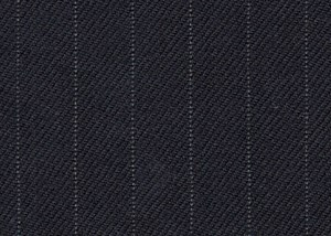 Navy with grey pin stripe