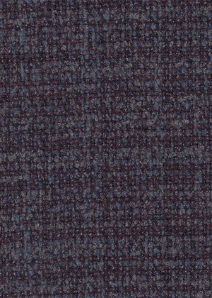 Navy-Blue-Grey-Red Boucle