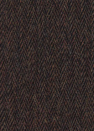 Brown & Black Herringbone