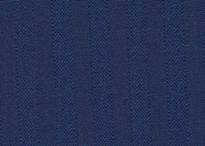 Bright Blue Herringbone Style Self Stripe